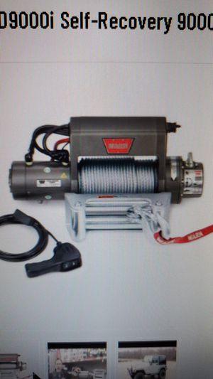 Warn XD9000i winch for Sale in Pasadena, TX
