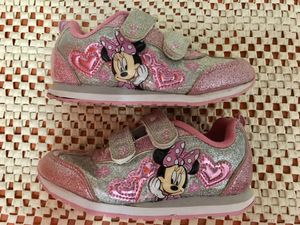 SIZE 11k MINNIE MOUSE SNEAKERS EXCELLENT CONDITION for Sale in Tarpon Springs, FL