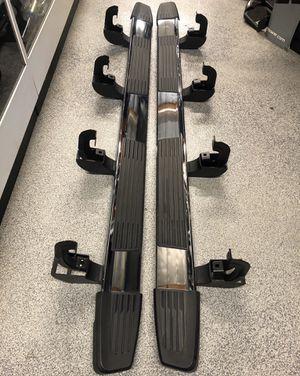 2020 OEM GMC Sierra Chevy Silverado 1500 Left Right Chrome Side Bar Step Set for Sale in Santa Ana, CA