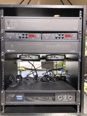 QSC CX-302V 2 Channel Direct Output Power Amplifier (300W, 70V) for Sale in Miami, FL