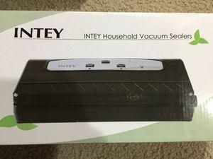 Intey Household Vacuum Sealer for Sale in Kent, WA