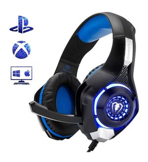 Beexcellent Gaming Headset for PS4 Xbox One PC Mac for Sale in Orlando, FL