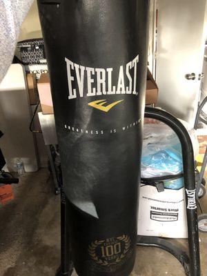 Heavy bag with stand for Sale in Santa Ana, CA