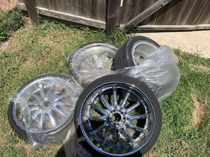 22 inch chrome rims for Sale in Tyler, TX