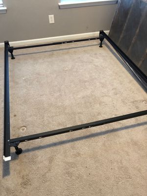 Queen/full bed frame for Sale in Beaufort, SC