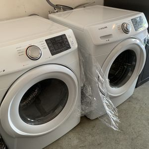 Samsung Electric Front Loading Washer/Dryer Set for Sale in Friendswood, TX