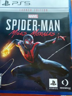 Spider-Man Miles Morales PlayStation 5 for Sale in Clermont,  FL
