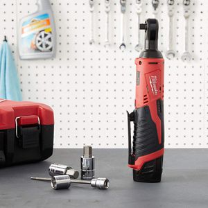 """Milwaukee 2457-20 M12 Cordless 3/8"""" Sub-Compact 35 ft-Lbs 250 RPM Ratchet w/ Variable Speed Trigger (Battery Not Included, Power Tool Only) for Sale in Miami, FL"""