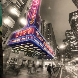 Radio City Music Hall Canvas Print for Sale in Hollywood, FL