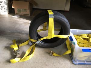 Tow straps for car dolly or trailer for Sale in Port Orchard, WA