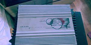 ((PHIONICUS CA4120 Amp for Sale in DEVORE HGHTS, CA