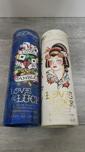 Love & Luck Ed hardy 3.4 oz men and women perfume for Sale in San Diego, CA