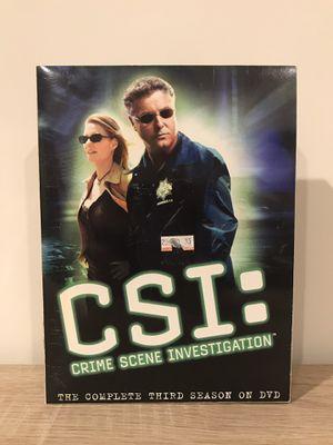 CSI season 3 complete dvd box set for Sale in Dulles, VA