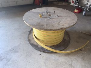 6AWG 600VOLT SUBMERSIBLE PUMP CABLE 300 FEET LEFT ON SPOOL for Sale in Northumberland, PA