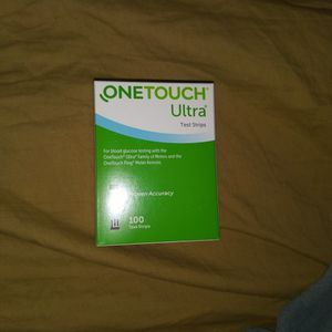 One Touch Ultra Blue Test strips 100ct for Sale in Chandler, AZ