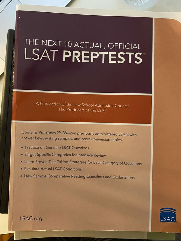 LSAT PREP TEST/STUDY MATERIALS
