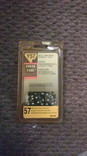 POWER CARE Y57 CHAINSAW CHAIN for Sale in Bakersfield, CA