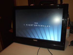 Naxa 19in with built-in Dvd player. No remote. No stand for Sale in Dallas, TX