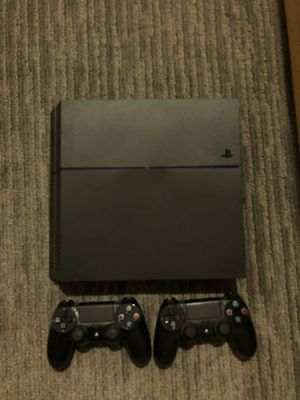 PlayStation 4 with 2 controllers and 3 games for Sale in San Diego, CA