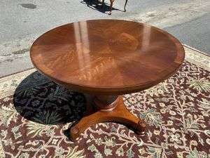 """42"""" Pedestal Dining Table by Hickory Chair for Sale in NC, US"""