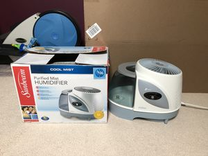 Sunbeam cool mist humidifier - Good condition for Sale in Princeton, NJ