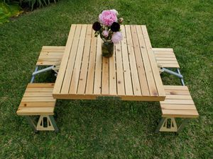 Wooden Portable Fold-up Table for Sale in San Diego, CA