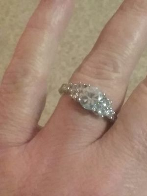 Cz ring size 10 for Sale in Onawa, IA