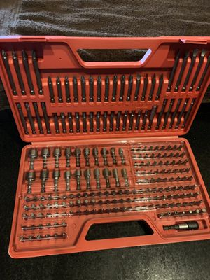 Ultimate Screwdriver Bit Set 208 Pieces BRAND NEW for Sale in Port Richey, FL