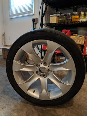 4 20 inch high performance rims and tires for Sale in Baltimore, MD