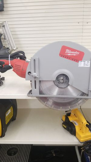 Milwaukee Electric Cutoff Saw for Sale in Amarillo, TX