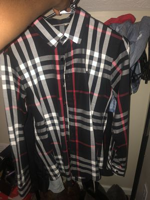 Burberry shirt for Sale in Morrow, GA