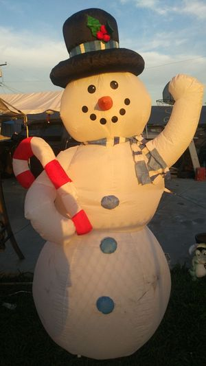 Christmas Snowman Inflatable for Sale in El Monte, CA
