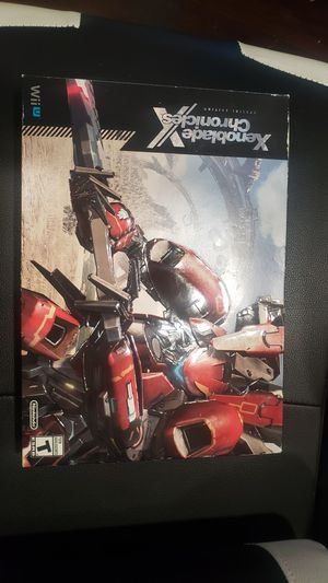 Xenoblades chronicles Special Edition Wii U Nintendo for Sale in Los Angeles, CA