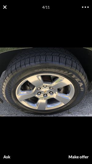 Tahoe rims 20 $950 for Sale in Lomita, CA