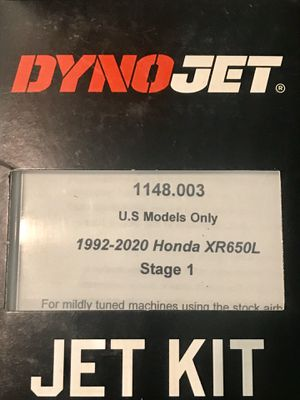 DYNO-JET jet kit for Sale in Claremont, CA