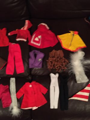 DOLL CLOTHES 40 Pcs for Sale in Wichita, KS