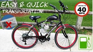 Bicycle with motor for Sale in Arlington, TX