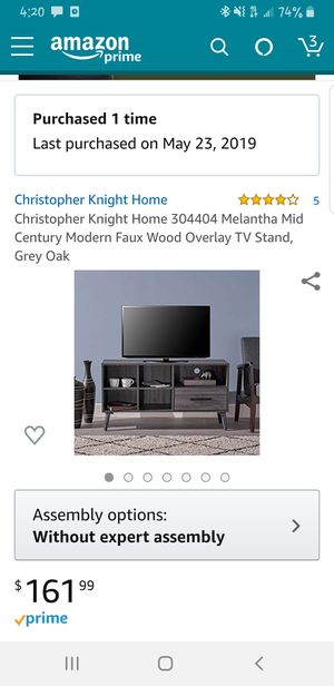 Christopher Knight Home Furnishings TV Stand for Sale in Jersey City, NJ