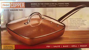 """Parini Copper 9-1/2"""" Square Pan for Sale in Renton, WA"""