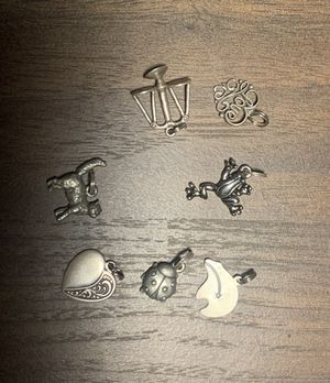Charms - some sterling silver - $8 local $10 if shipped for Sale in Austin, TX
