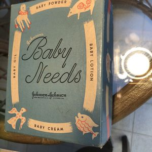 1950's Box Of Baby Starter Kit for Sale in Vancouver, WA