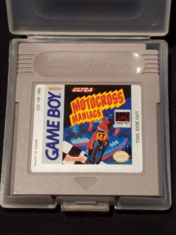 Motocross Maniacs Gameboy Game