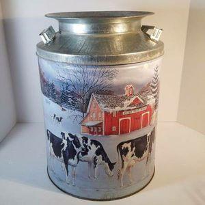 (2) Golden Harvest Popcorn Cans Dairy Scene for Sale in Pulaski, TN
