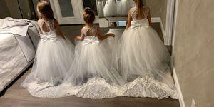 Custom-made flower girl dresses for Sale in Auburn, WA