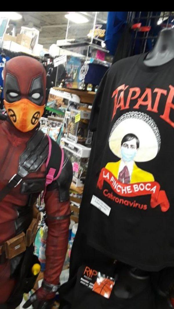Tapatio Tapate la boca Face mask mascara few left!