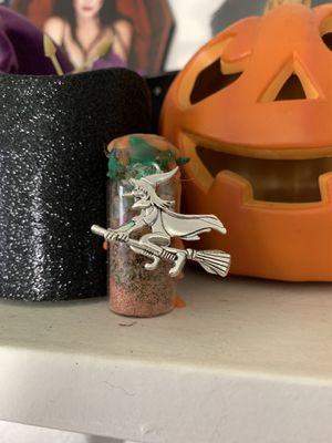 Happiness Spell Bottle with Witch Charm for Sale in El Monte, CA