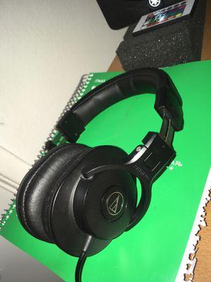 Audio Technica M30x Studio Monitor Headphones for Sale in Fullerton, CA