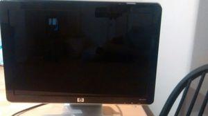 Hp flat desktop computer screen for Sale in Raleigh, NC