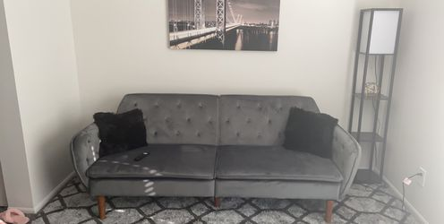 Grey couch for Sale in Westerville,  OH