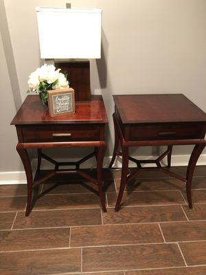 2 Bombay End Tables ($50/each) - Great Condition! for Sale in Forest Heights, MD